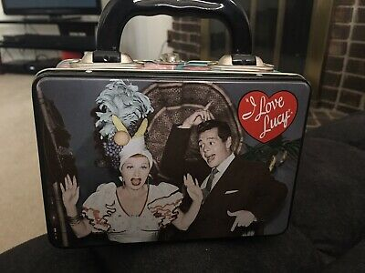 I Love Lucy Mini Lunchbox Tin. Preowned. I Love Lucy Mini Tin