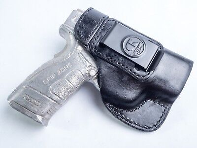 Springfield Xd Mod 1   Mod 2  3    Full Grain Leather Iwb Conceal Carry Holster