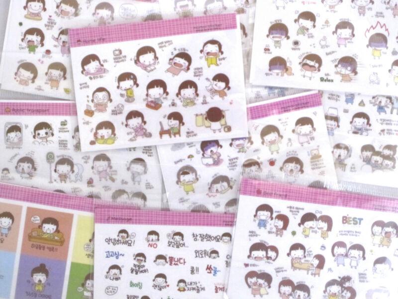Wannathis Momoi Set of 2 Mini Sticker Sheets (Your Choice of Design)~KAWAII!!