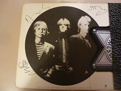 The Police Signed/Autographed Badge Shaped Message in a Bottle record