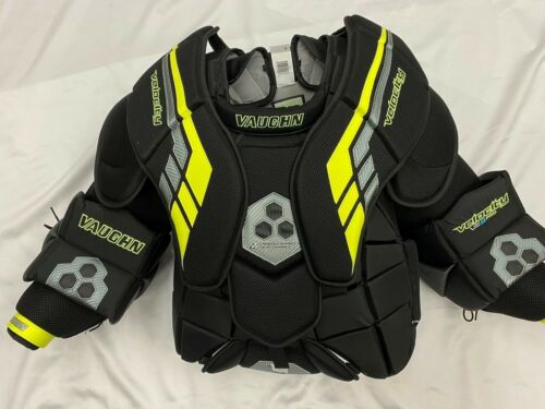 Vaughn Ve8 Pro Goalie Arm & Chest Protector Size SR Large New w/Tags