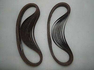 "3M Aluminum Oxide Abrasive Belt 20Pk 3/4"" Wide 20-1/2"" Long 180 Grit 241E 33613"