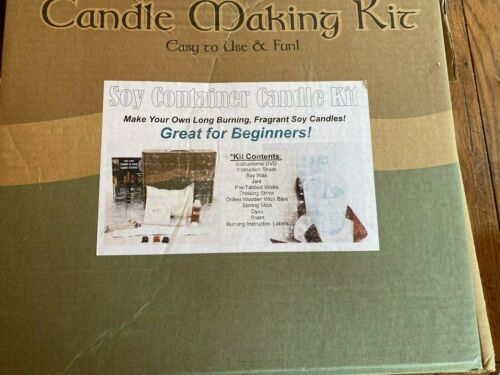 Soy Candle Making Kit & Supplies: Complete DIY Set with 3 LB Soy Wax + bonus wax