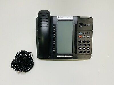 Mitel 5320e Backlit Ip Phone 50006634 With Stand Handset
