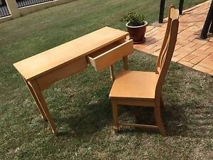 Desk writing desk and chair set Eight Mile Plains Brisbane South West Preview
