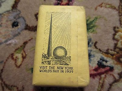 Vintage Park Central Hotel New York Nyc Worlds Fair 1939 Guest Soap