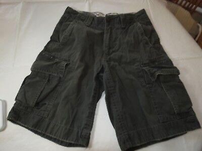 Jungen American Eagle (Jungen Jugend American Eagle Outfitters Klassisch Länge Cargo-Shorts 26 EUC <>)