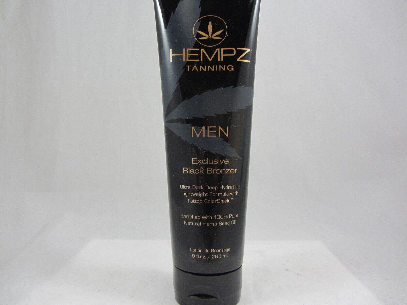 Hempz MEN EXCLUSIVE BLACK BRONZER - 9 oz.