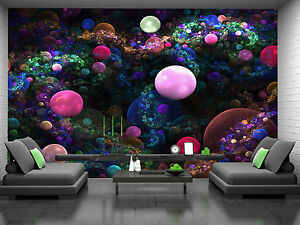 bubbles wallpaper mural - photo #8