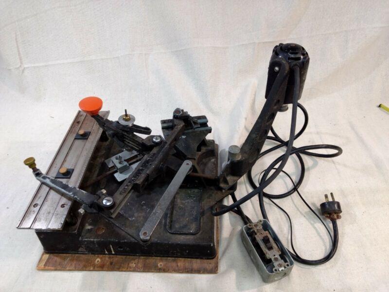 Vintage New Hermes Engravograph 6594 Engraving Machine