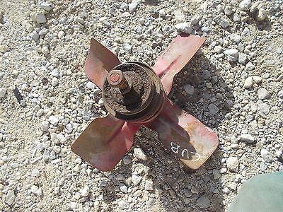 Farmall Cub Tractor Good Working Ih Ihc Engine Motor Fan Blade W Belt Pulley