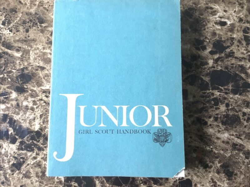 Vintage 1963 Junior Girl Scout Handbook, First Edition, Softcover