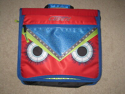 Nwt Case-it Monsters The Flip Top 3-ring Zipper Binder 2 Capacity Red M-276-me