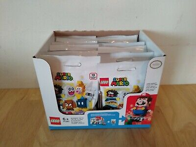 Lego 71361 Lot of 16 Super Mario Blind Bag Mystery Character Packs Unsearched