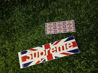 Supreme F/W 2011 London UK Sticker Opening Box Logo White