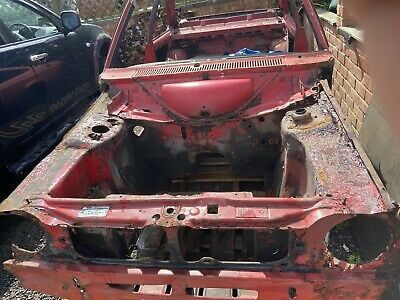 ford escort mk2 body shell