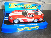 Scalextric C3087 Dodge Viper ,56th Fighter Wing , Working Lights, M/b - scalextric - ebay.co.uk
