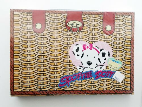 Vintage Spottie Dottie Coloring Pack Color By Number In Carrying Case w/ Handle