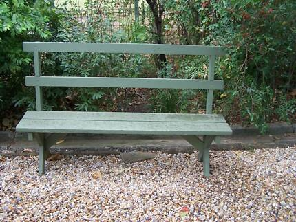 outdoor furniture timber bench seat