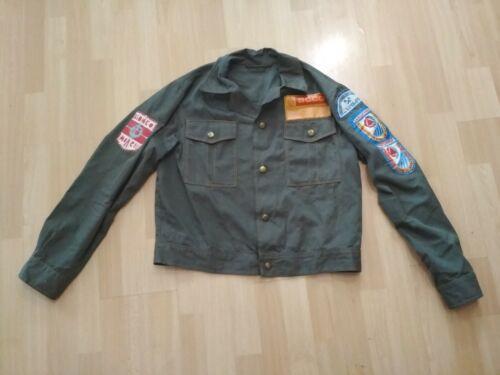 Vintage old Komsomol jacket 1970s USSR.