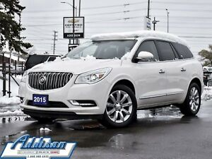 2015 Buick Enclave AWD Premium Navi Leather Dual Roof AWD 7 Pass