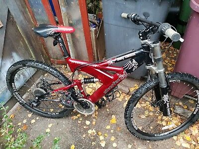 Downhill full suspension mountain bike