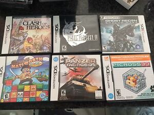 NINTENDO DS Games LIKE NEW MINT & COMPLETE RARE