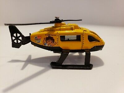 Matchbox HANDY MANNY RESUE HELICOPTER Emergency Rescue Yellow