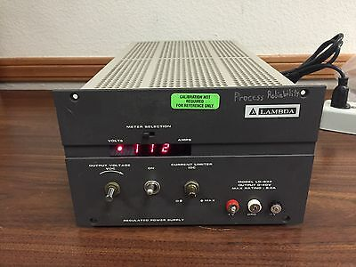 Lambda Lq-532 Regulated Dc Power Supply