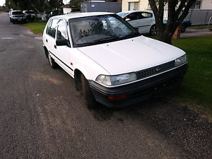 1993 Toyota Corolla, AE92, low kms, old dudes car Weston Cessnock Area Preview