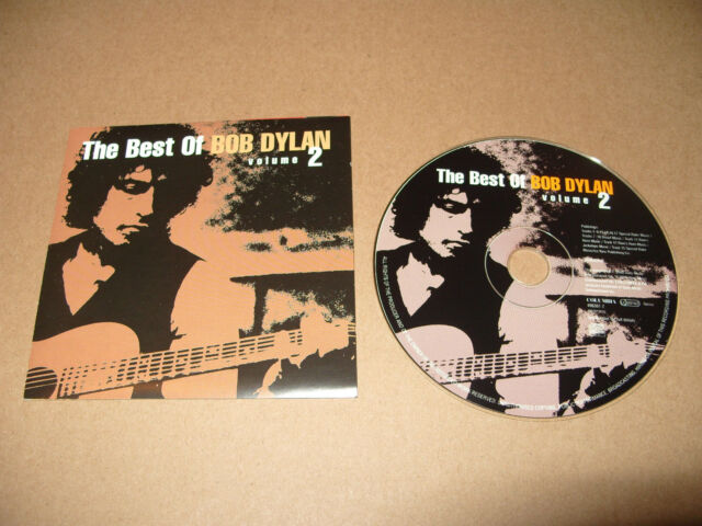 Bob Dylan The Best Of Bob Dylan Volume 2 cd 17 travks 2000 Excellent condition