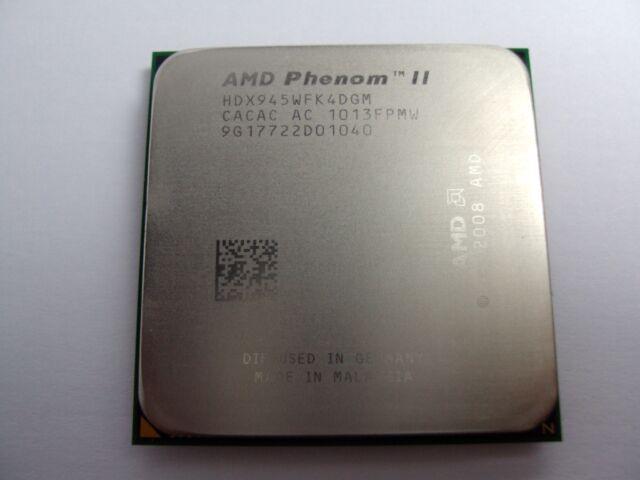 AMD Phenom II X4 945 3GHz Quad-Core (HDX945WFK4DGM) Processor w/Grease