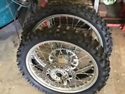 CRF 250R wheels and tyres Kelso Townsville Surrounds Preview