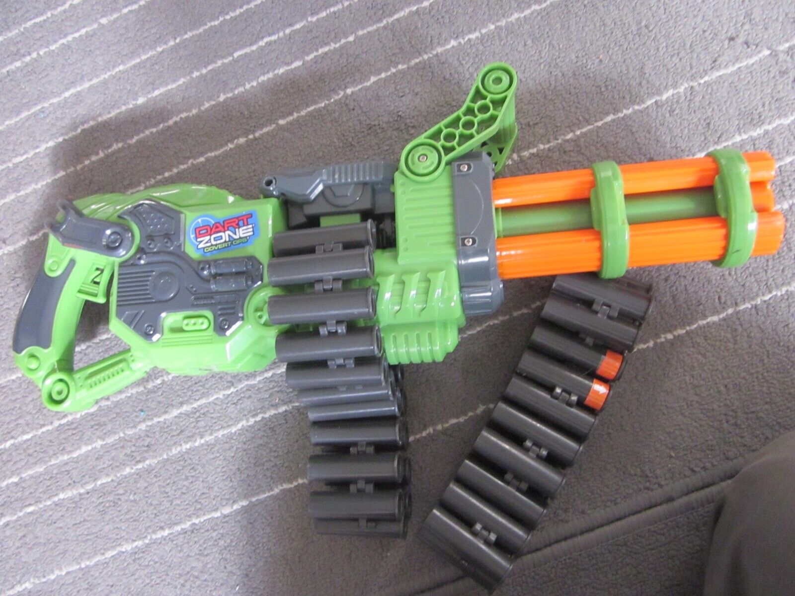 Dart Zone Super Commando Gatling Blaster Belt Covert Ops Mot