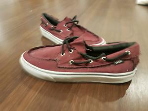 Vans Boat Shoes - Zapato del Barco || Size 11 Strathfield Strathfield Area Preview
