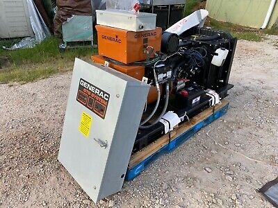 Generac 3210960100 Industrial Commercial 20 Kw Natural Gas Generator 277480v