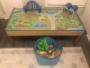 IMAGINARIUM TRAIN TABLE WITH TRACKS