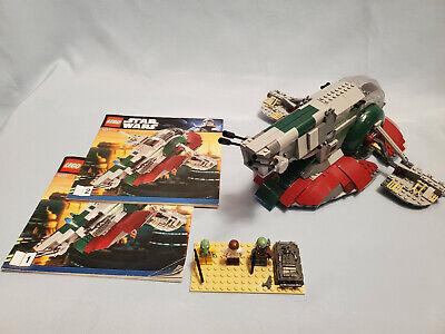 LEGO Star Wars #8097 Slave I - Complete, Instructions, Boba Fett, Boskk, 2010