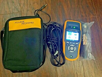 Fluke Networks Aircheck Wi-fi Tester With Power Supplycharger And Case