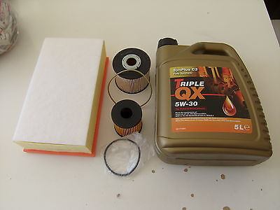 SERVICE KIT OIL INCL FITS CITROEN C4 & C4 PICASSO DS4 DS5 2.0 HDi DIESEL 2010 ON