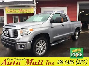 2014 Toyota Tundra Limited/Leather/Nav 4WD