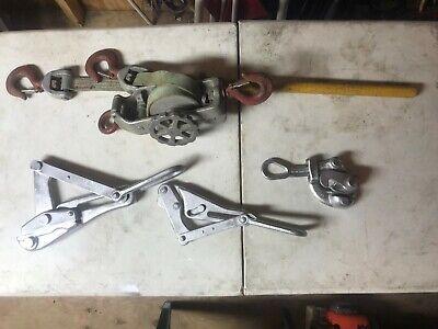Klein Wire Grips And Hot Line Hoist