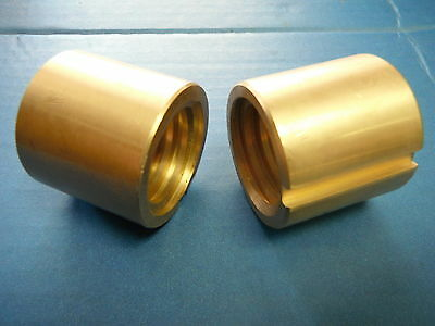 Bridgeport Mill Part J Head Milling Machine Cross Feed Nut 2 Pc 2060631 M1070-2