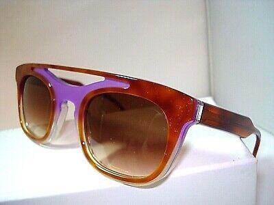 AUTH  NEW VERA WANG SUNGLASSES AYA LILAC TORTOISE with CASE  MADE (Wang Sunglasses)