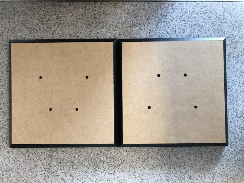 Chicago Audio Group BMO-16 Elara Series I Wooden Speaker Stands **NEW**