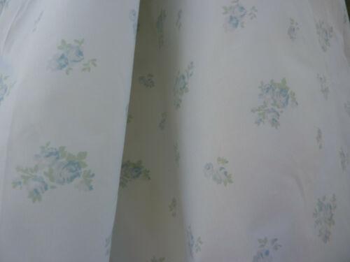 """Rachel Ashwell Shabby Chic Boutique Petite Bouquet Blue 108"""" wide Cotton Fabric"""