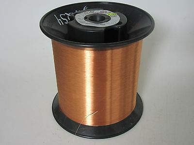 40 Awg  10.70 Lbs. Elektrisola E180 Heavy Enamel Coated Copper Magnet Wire