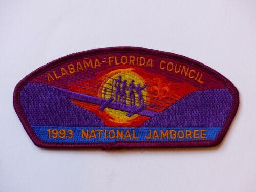 Unused 1993 National Scout Jamboree Alabama-Florida Council Boy Scout JSP Patch