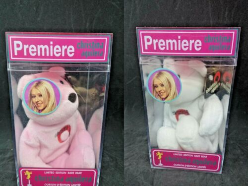 Factory Sealed Christina Aguilera 2000 Premiere Limited Edition Rare Bear