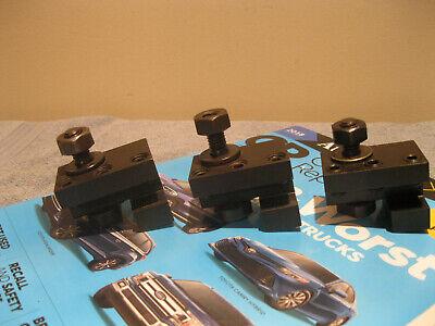 Hardinge Cc-25r 12 Tool Holders Qty 3 Machinist Tools